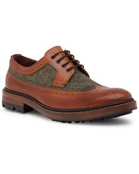 Ted Baker - Casbo Leather & Wool Wingtip Derby - Lyst