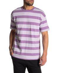 Zanerobe - Boxy Fit Stripe T-shirt - Lyst