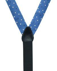 Phenix 32mm Polka Dot Covertible Brace - Blue