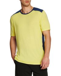 Revo - Two Tone Luxe Tee - Lyst