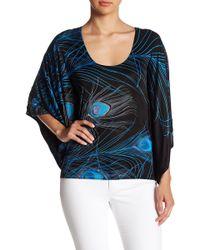 Sky - Cerrus Woven Back Silk Blouse - Lyst