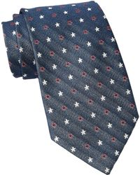 John Varvatos - Silk Wide Tie - Lyst