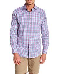 Peter Millar - Multi Plaid Reserve Performance Atheltic Fit Shirt - Lyst