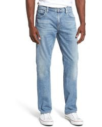 Citizens of Humanity Gage Slim Straight Leg Jeans - Blue