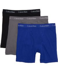 Calvin Klein - Classic Fit Boxer Briefs - Pack Of 3 - Lyst