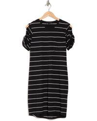 Sanctuary So Twisted One Pocket Dress - Black