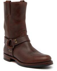 Frye - John Addison Leather Harness Boot - Lyst
