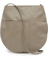 Christopher Kon - Luna Flat Leather Hobo Bag - Lyst