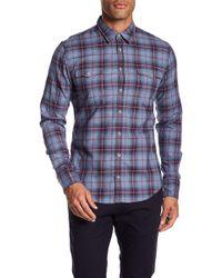 BOSS - Edoslime Long Sleeve Slim Fit Shirt - Lyst