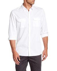 Calvin Klein - Long Sleeve Bedford Shirt - Lyst