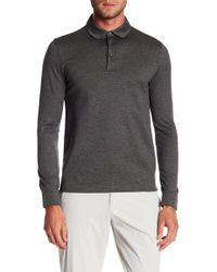 BOSS - Paver Long Sleeve Polo Shirt - Lyst