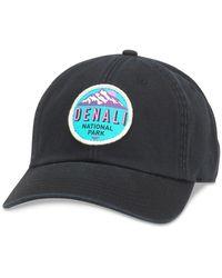American Needle Denali Baseball Cap - Black