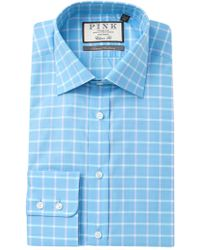 Thomas Pink - Horseforth Check Classic Fit Dress Shirt - Lyst