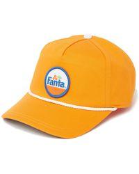 American Needle Fanta Snapback Ballpark Cap - Orange