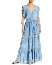 Muche Et Muchette - Wyatt Crochet Knit Long Dress - Lyst