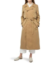 Billy Reid Trench Coat - Natural
