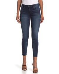 French Connection Yoga Denim Skinny Jean - Blue