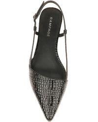 Rampage Cora Pointed Toe Flat - Black