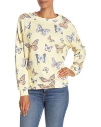 Wildfox Flutter Away Sommers Sweater - Multicolour