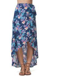 Rip Curl - Tropic Tribe Wrap Skirt - Lyst