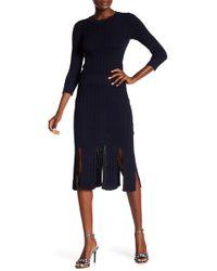 RACHEL Rachel Roy - Knit Pencil Skirt - Lyst