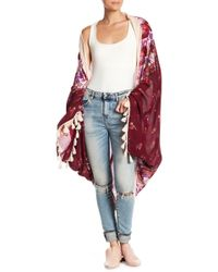 Free People - Bali Wrapped In Blooms Kimono - Lyst