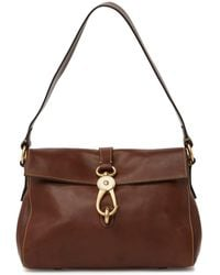 Dooney & Bourke Libby Leather Hobo Bag - Brown