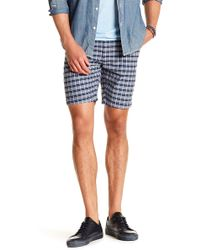 Benson - Plaid Shorts - Lyst