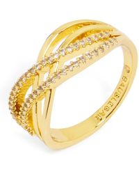 BaubleBar - 'luda' Pave Crystal Ring - Lyst