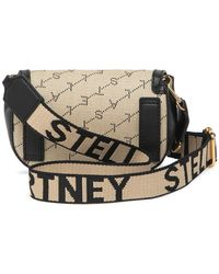 Stella McCartney Eco Monogram Flap Belt Bag - Multicolor
