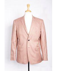 Boga - Check Wool & Cashmere Blazer - Lyst
