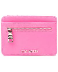 Steve Madden Clip Card Case - Black