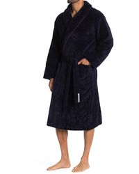 Robert Graham Embroidered Skull French Terry Robe - Multicolour