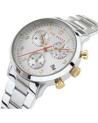 Ted Baker Men's Cosmop Chronograph Bracelet Watch - Metallic