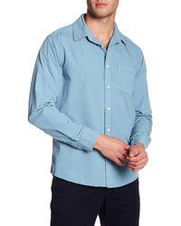 Velvet By Graham & Spencer - Long Sleeve Classic Fit Woven Shirt - Lyst