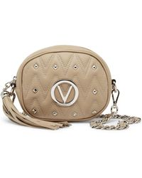 Valentino By Mario Valentino - Aryad Quilted Leather Crossbody Bag - Lyst
