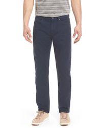 Peter Millar Crown Vintage Canvas Pants - Blue