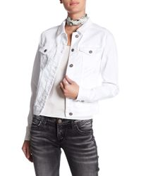Silver Jeans Co. - Denim Jacket - Lyst