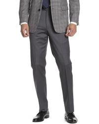 "Brooks Brothers - Medium Grey Sharkskin Regent Fit Suit Separates Trouser - 30-34"" Inseam - Lyst"