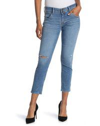 Hudson Jeans Collin Skinny Jeans - Blue