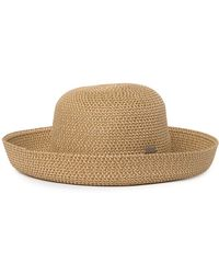 Betmar Classic Roll Up Hat In Natural At Nordstrom Rack