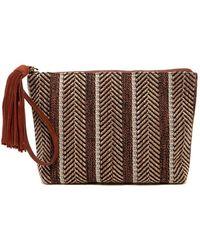 Lucky Brand - Sari Small Woven Clutch - Lyst