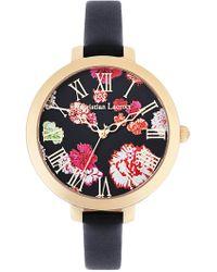 Christian Lacroix - Women's Oeillet Quartz Watch, 38mm - Lyst