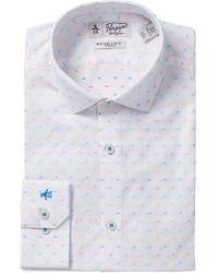 Original Penguin - Printed Slim Fit Shirt - Lyst