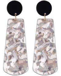 Cara - Tortoise Dangle Earrings - Lyst