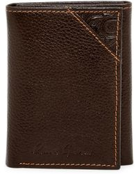 Robert Graham | Kent Leather Trifold Wallet | Lyst