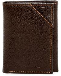 Robert Graham - Kent Leather Trifold Wallet - Lyst