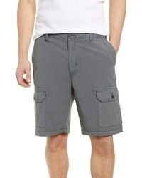 Tommy Bahama Riptide Classic Fit Ripstop Cargo Shorts - Gray