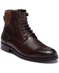 Zanzara Kenz Leather Lace-up Boot - Brown