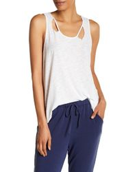 Michelle By Comune - Distressed Knit Tank - Lyst